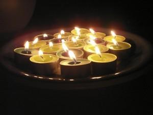 Ljus på tallrik
