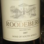 Vinettikett Roodeberg