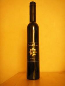 Vinflaska kanadeniskt dessertvin