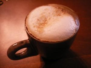 Liten cappuccino