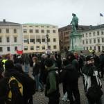 Demonstration mot övervakningssamhället 1