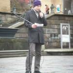 Demonstration mot övervakningssamhället 16
