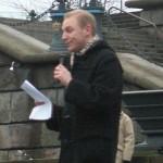 Demonstration mot övervakningssamhället 17