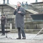 Demonstration mot övervakningssamhället 20