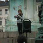 Demonstration mot övervakningssamhället 3