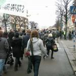 Demonstration mot övervakningssamhället 6