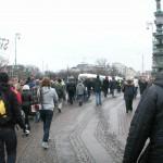 Demonstration mot övervakningssamhället 7