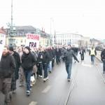 Demonstration mot övervakningssamhället 8