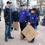 Manifestation i Brunnsparken 2009 1