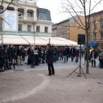 Manifestation i Brunnsparken 2009 2