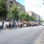 Demonstration mot FRA 2008 - Demonstrationståg 3