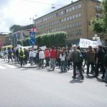 Demonstration mot FRA 2008 - Demonstrationståg 4