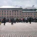Demonstration mot FRA 2008 - Gustav Adolfs Torg