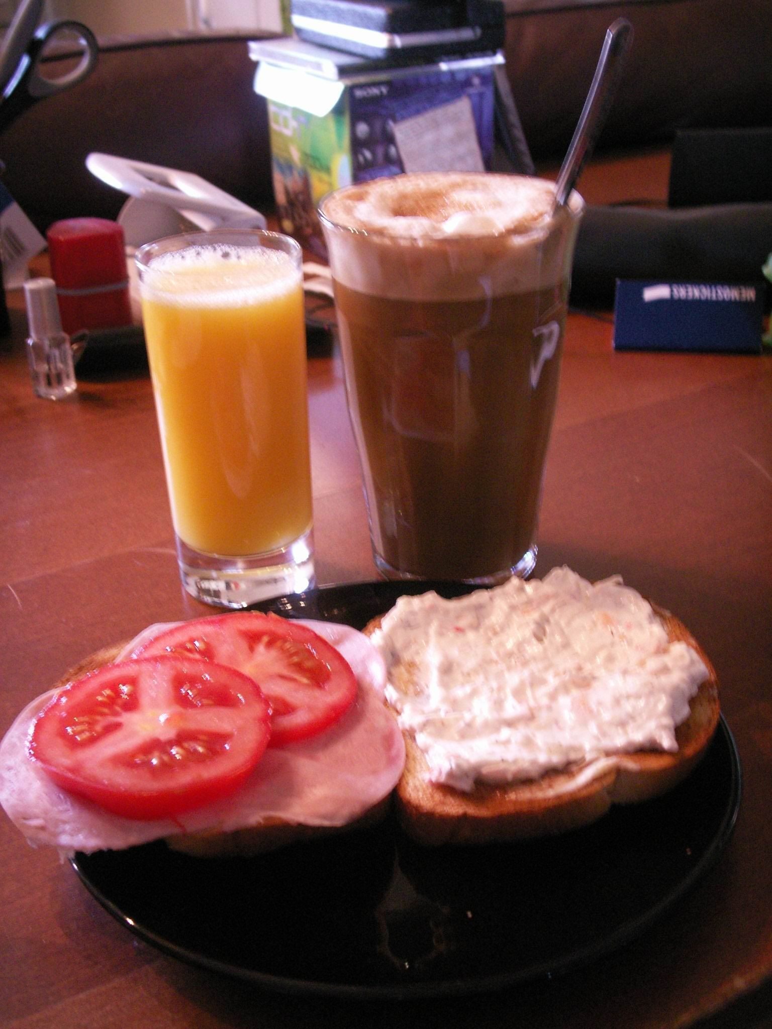 Dagens frukostoutfit