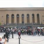 Demonstration mot FRA 2008 - Götaplatsen