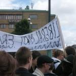 Demonstration mot FRA 2008 - Liberaler mot FRA