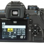 Olympus E-520 info-display