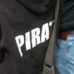 Demonstration mot FRA 2008 - Pirat
