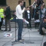 Demonstration mot FRA 2008 - Talare 3