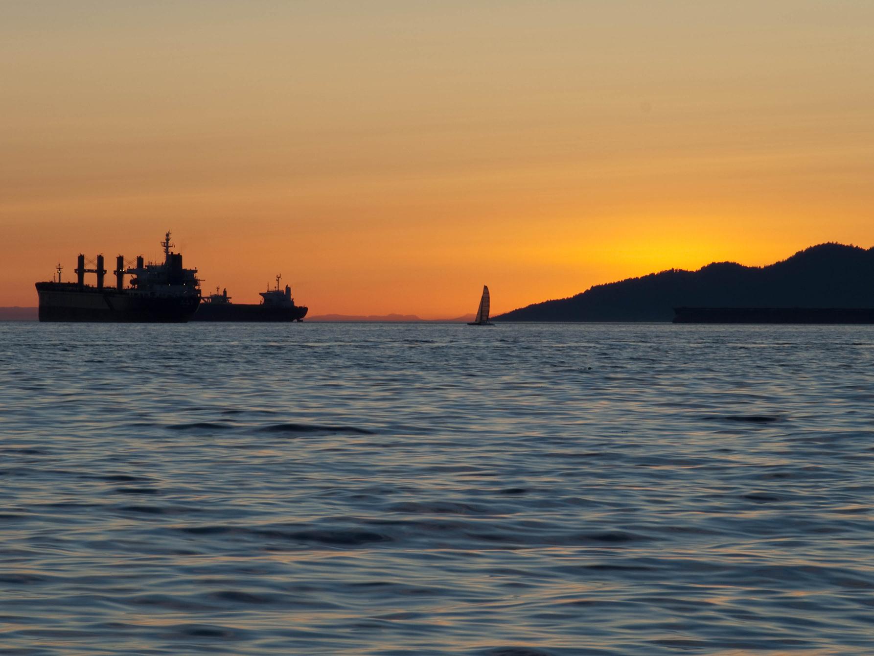 Mer bilder från English Bay