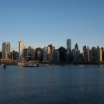 Vancouver City sunset 2010-05-21