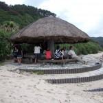 Koja på stranden