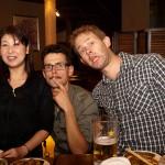 Marcus, Pontus och Sayuri