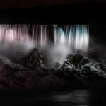 American Falls i mörker