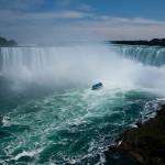 Horse Shoe Falls vidvinkel