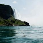 Horse Shoe Falls från floden