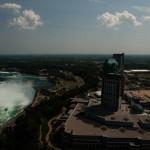 Horse Show Falls och Niagara Falls tätort