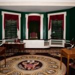 Övervåningen i Independence Hall