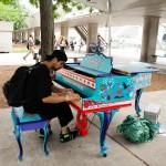 Pianon på stan, konstprojekt i Toronto