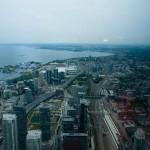 Toronto sett från CN Tower 1