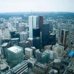 Toronto sett från CN Tower 2