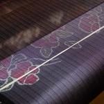 Ett av två besök på väveri: silke