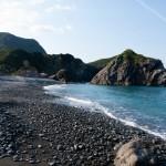 Stranden från en annan vinkel