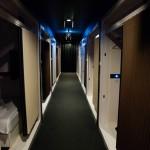 First Cabin: korridor, Haneda Airport