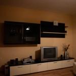 TV i vardagsrummet i lägenheten i Zadar