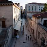 Ulica Jurja Barakovića från stadsmuren