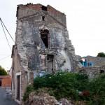 Förfallen byggnad