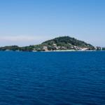 Ön Ošljak från färjan