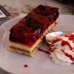 Hallon-cheesecake