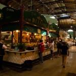 Inifrån saluhallen Mercato di San Lorenzo