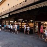 Juvelerarbutikerna på Ponte Vecchio