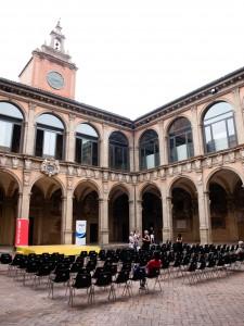 Archiginnasio of Bologna - världens äldsta universtitet